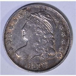 1832 CAPPED BUST DIME  CH XF