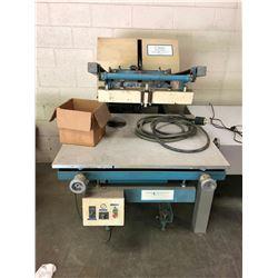 M& M Research  Screen Printer Model #V-14