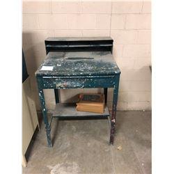 Metal Writing / Receiving Desk