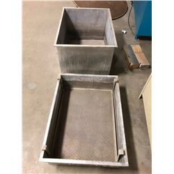 """Steel Totes for Parts Washing 38""""x28""""x22"""""""