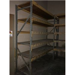 """Section of Racking 120""""x120""""x36"""""""