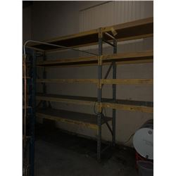 """(2) Sections of Racking 120""""x120""""x36"""""""