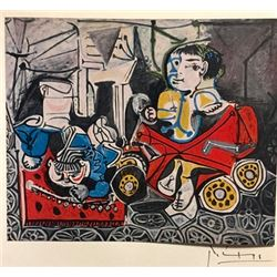 Development Through Life - Pablo Picasso Lithograph
