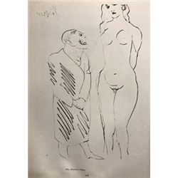 The Amateur - Pablo Picasso Lithograph