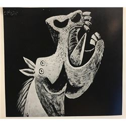 Head of Horse - Pablo Picasso Lithograph