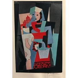 Young Girl and Minotaur - Pablo Picasso Lithograph