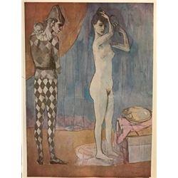 Les Demoiselles d'Avignon - Pablo Picasso Lithograph