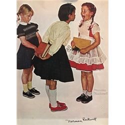 Loose Tooth - Norman Rockwell Lithograph