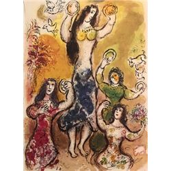 Exodus - Marc Chagall Lithograph