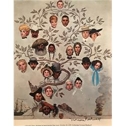 Country Agricultural Agent  - Norman Rockwell Lithograph