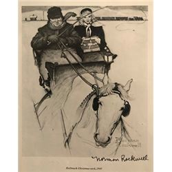 Marsh - Norman Rockwell Lithograph