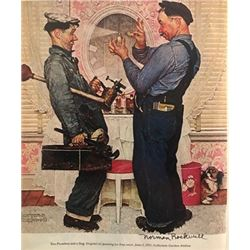 Perfume - Norman Rockwell Lithograph