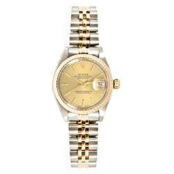 Rolex Datejust 18k rose gold Men