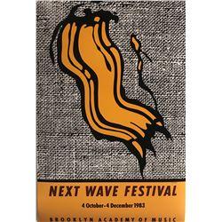 """Roy Lichtenstein""""Next Wave"""""""