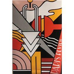 """Roy Lichtenstein""""Paris Review"""""""