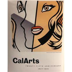 """Roy Lichtenstein""""Calarts 25th Century"""""""