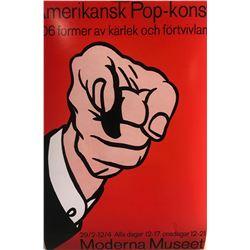 """Roy Lichtenstein""""Red Horseman"""""""