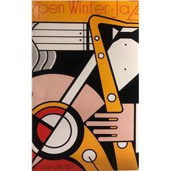 """Roy Lichtenstein""""Aspen Winter Jazz"""""""