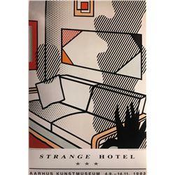 """Roy Lichtenstein""""Interior With Shadow"""""""