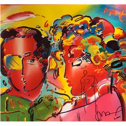 """Peter Max""""Cool and Colorful""""Hand Signed"""