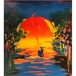 """Peter Max""""With out Boarders""""Hand Signed"""