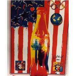 """Peter Max""""Cola Cola""""Hand Signed"""