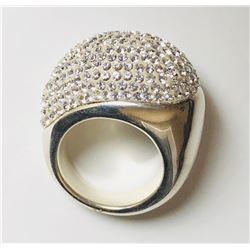 Stunning 18k Big Diamond Ring(cts)