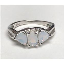 Dazzling Silver Opel Ring(cts)