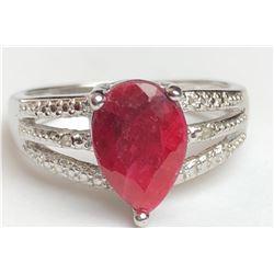 Ravishing Blood Diamond Ring(cts)