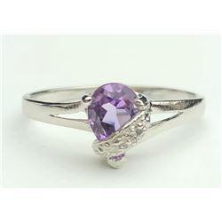 Elegant Tanzanite Diamond Ring(cts)