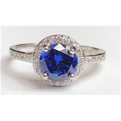 Stunning Saphire Diamond Ring(cts)