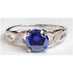 Marvelous Saphire Diamond Ring(cts)