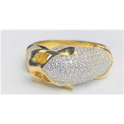 Elegant 18k Diamond Ring(cts)