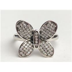 Stunning Butterfly Diamond Ring(cts)