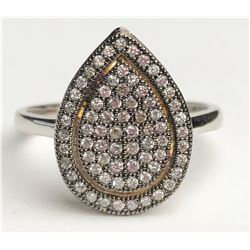Ravishing Tear Drop Diamond Ring (cts)