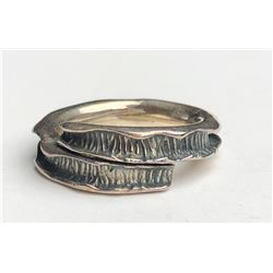 Abstract Siver Ring