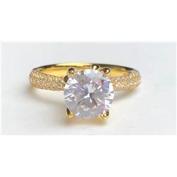 Stunning  Diamond Ring(cts)