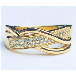 Wonderful 18k Diamond Ring(cts)