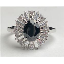 Beautiful Black Diamond Ring(cts)