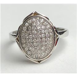 Beautiful Circle Diamond Ring With Points(cts)