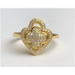 Ravishing 18k Diamond Ring (cts)