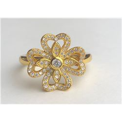 Stunning 18k Diamond Ring(cts)