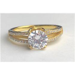 Marvelous 18k Diamond ring (cts)