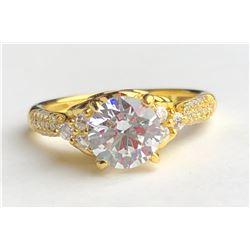 Beautiful 18k Diamond Ring(cts)