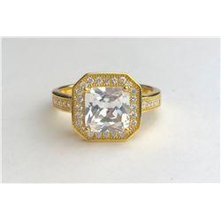 Abstract 18k Diamond Ring(cts)