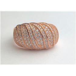 Classy Rose Gold Diamond Ring(cts)