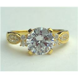 Dazzling 18k Diamond Ring(cts)