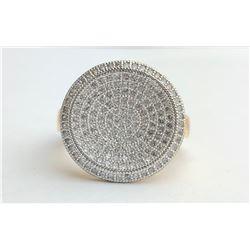 Marvelous Circle 18k Diamond Ring (cts)
