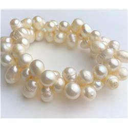 Wonderful White Pearl Bracelet