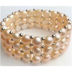 Marvelous Rose Pearl Bracelet(cts)